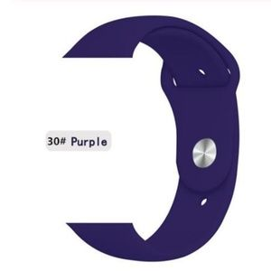 Accessories - ❤️NEW Purple Sport Silicone Band For Apple Watch